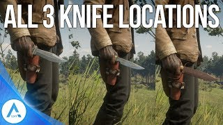 Red Dead Redemption 2 3 Weapon Locations