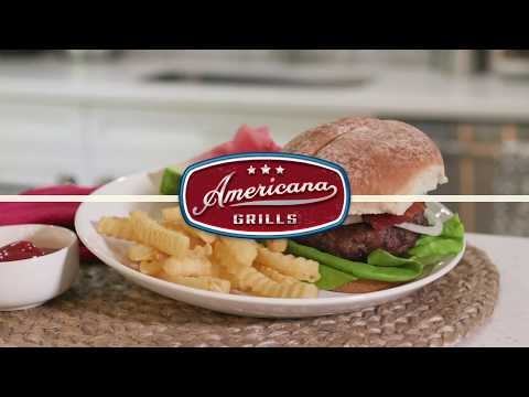 Applewood Smoked Bacon Burger - Americana Electric Grill