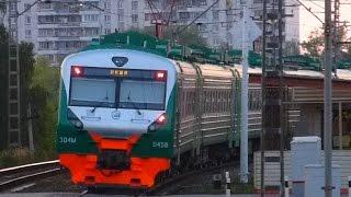 Новый электропоезд ЦППК - ЭД4М-0458 - 5 августа 2014