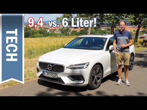 Predictive Efficiency im Volvo S60 T8: Weniger Verbrauch dank aktiviertem Navi
