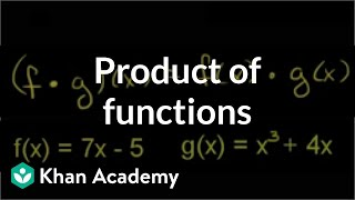 Product of Functions