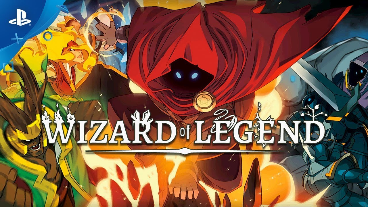 Sling Spells in Wizard of Legend, Out Early 2018 on PS4