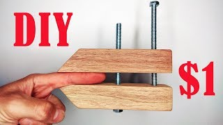 Woodworking Hand Screw Clamp DIY