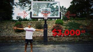 I got a $3,000 Basketball Hoop!!