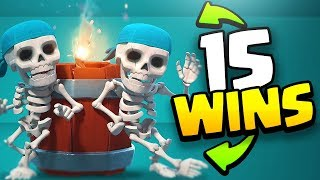PUSHING for 15 WALL BREAKER Challenge WINS in CLASH ROYALE!