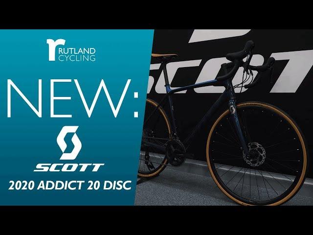 Видео Велосипед Scott Addict 20 Disc (TW) blue