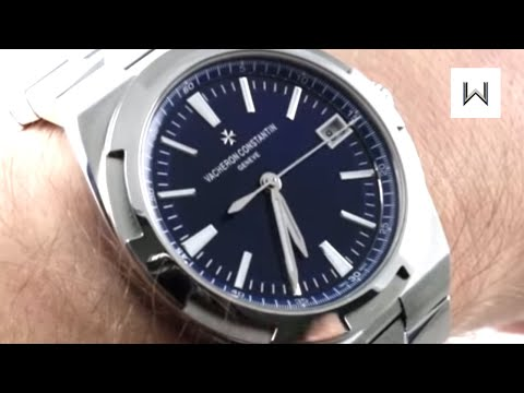 Vacheron Constantin Overseas Auto (BLUE) 4500V/110A-B128 Luxury Watch Review