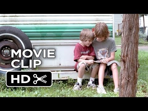 Boyhood Movie CLIP - Magazine (2014) - Ethan Hawke Family Movie HD