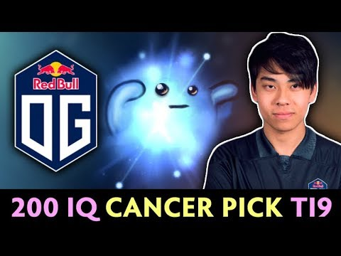 200 IQ CANCER PICK on TI9 — OG.Ana CARRY IO the WISP