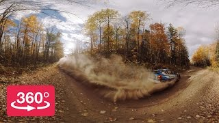 Spectate the Lake Superior Performance Rally in 360º