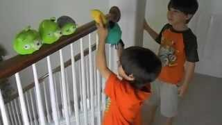 Playing with Angry Birds
