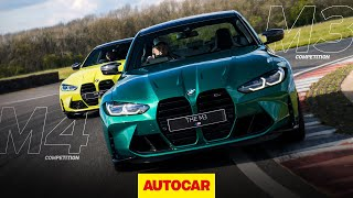 [Autocar] Advertising Feature | The BMW M3 and M4: on-track