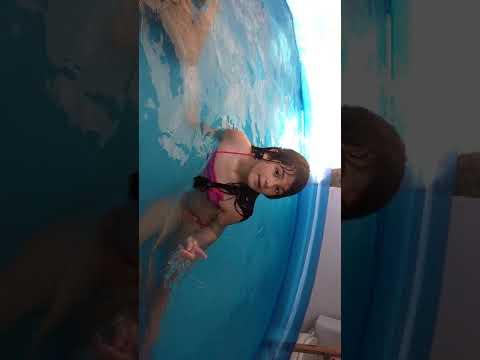 Tipo de crianças na piscina