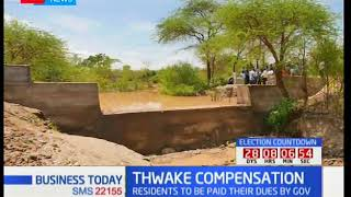 Government allocates over Kshs. 200 billion on reallocation of construction of Thwake dam