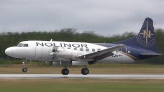 Convair CV-580 - Landing