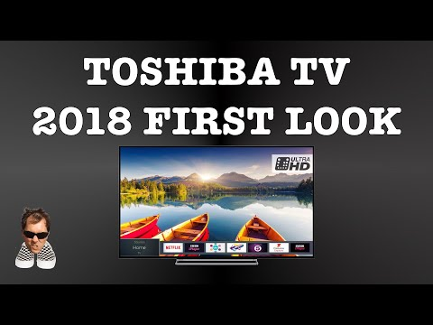 Toshiba NEW 2018 Smart TV first look 50U6863DB