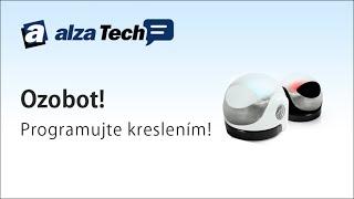 Ozobot: Robotek, který se programuje kreslením! - AlzaTech #115