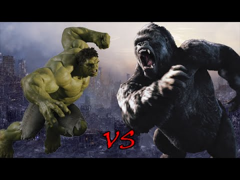 Hulk vs King Kong