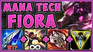 STOP PLAYING FIORA WRONG! MANA TECH FIORA IS 100% UNFAIR! FIORA TOP GAMEPLAY! - League of Legends