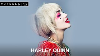Maybelline Maquillaje de carnaval: Harley Quinn anuncio