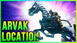 Skyrim How to get ARVAK Location – Dawnguard Secrets Horse Quest