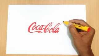 How to Draw the Coca-Cola Logo