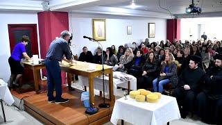 Πρόσφορο -Τριήμερο σεμινάριο παρασκευής πρόσφορου, ενορίας Αγ. Παρασκευής Λαμίας Β΄ μέρος 19-11-2018