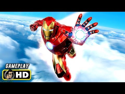 Marvel's IRON MAN VR (2020) Gameplay Trailer [HD] PSVR