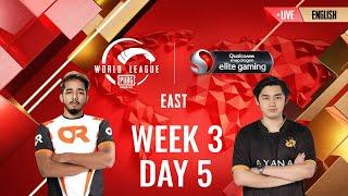 [EN] W3D5 - PMWL EAST - Super Weekend   PUBG MOBILE World League Season Zero (2020)