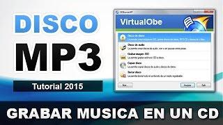 COMO GRABAR UN DISCO MP3 | GRABAR UN CD DE MUSICA MP3 EN WINDOWS XP/7/8/10