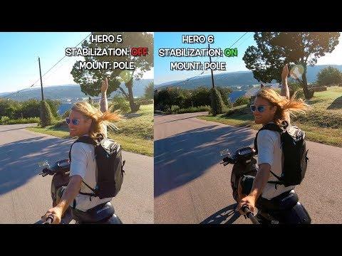 GoPro Hero6 Stabilization Comparison (with Hero5) GoPro Tip #594   MicBergsma