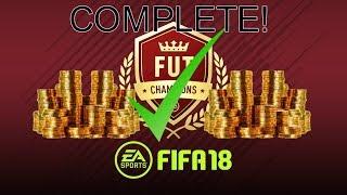 FIFA 18- FUT CHAMPIONS QUALIFIED #1