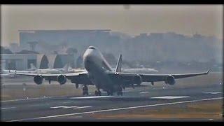 Back To Back Heavies Takeoff From Chatrapati Shivaji International Airport(CSIA\VABB)