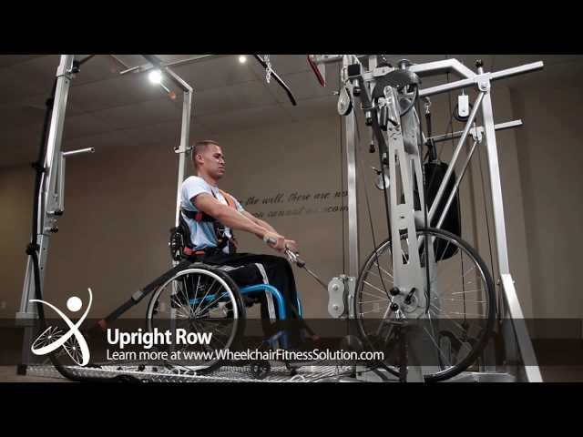 Wheelchair Fitness Solution | Exercise: Upright Row (19 of 40)