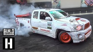 1jz Swapped Tacoma XRunner?? Built-to-Drift Pickup Slays our Yard