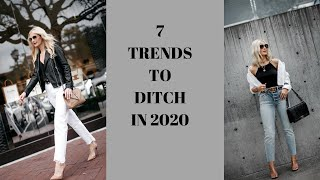 7 Trends To Ditch In 2020 | Fashion Over 40