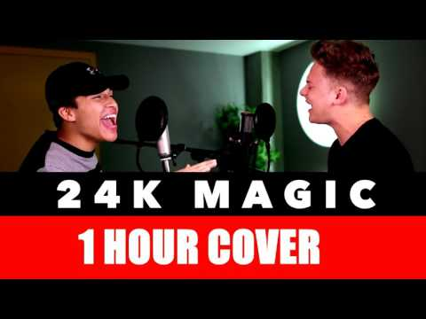 [1 Hour Edition] Bruno Mars - 24K Magic (SING OFF Vs. Alex Aiono) Mp3