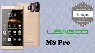 Leagoo M8 Pro: Smartphone 4G Große Größe