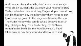 Eminem - Drop The Bomb On 'em lyrics [HD]
