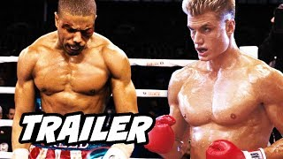 Creed 2 Trailer Creed vs Drago Breakdown and Easter Eggs