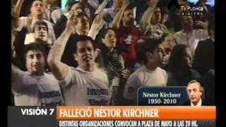 Visión Siete Falleció Néstor Kirchner 36