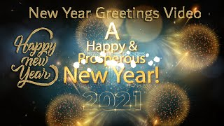 HAPPY NEW YEAR WISHES 2021 | ADVANCE NEW YEAR WISHES 2021 | HAPPY NEW YEAR status video full screen