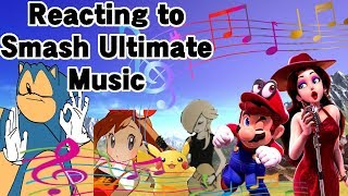 Reacting to Super Smash Bros. Ultimate's Music