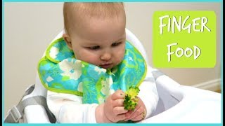 BABY FINGER FOOD IDEAS & DEMO | BABY LED WEANING IDEAS