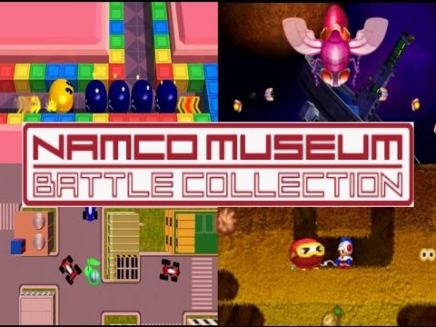 Namco Museum Battle Collection | COMPILATION OF CLASSICS