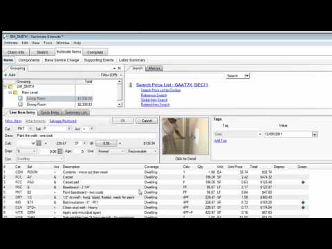 Download link youtube xactanalysis how to use it and for Xactimate 28 tutorial