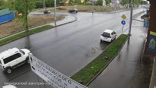 Нарушение ПДД привело к ДТП в Петрозаводске