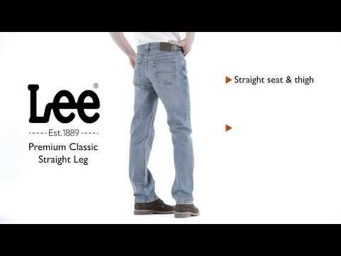 Lee Jeans - Premium Classic Straight Leg Jean