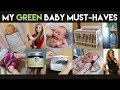 My Green Baby Must-Haves | Baby Registry Must-Haves