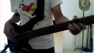 Fretless Bass cover : through the day -- brad